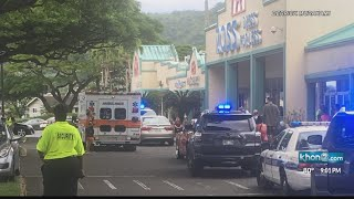 Police apprehend man with knife at Kaneohe store
