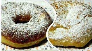Замечательные творожные дрожжевые пончики двумя способами приготовления!