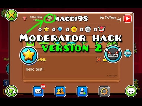 Geometry Dash 2.111 Moderator Hack v2 [ANDROID]
