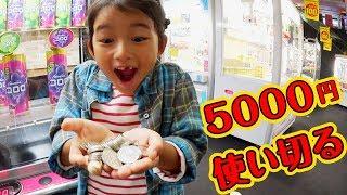 ●普段遊び●ラウンドワンのクレーンゲームで5千円使い切る!まーちゃん【6歳】おーちゃん【4歳】#562 thumbnail