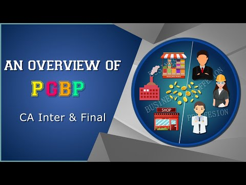 Income Tax | An overview of PBGP | CA Inter & Final