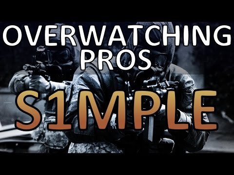 Overwatching Pros - S1MPLE (ESL One: New York 2016)