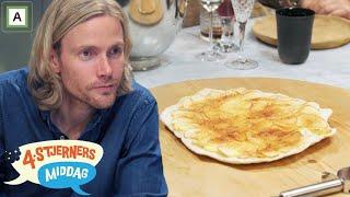 4 Stjerners Middag | Bjørn Einar Romøren Serverer Pizza Til Dessert | Tvnorge
