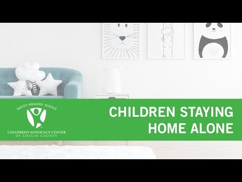 Children Staying Home Alone