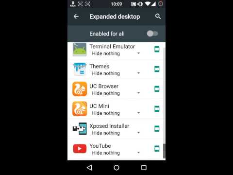 How to hide status & navigation bar on android