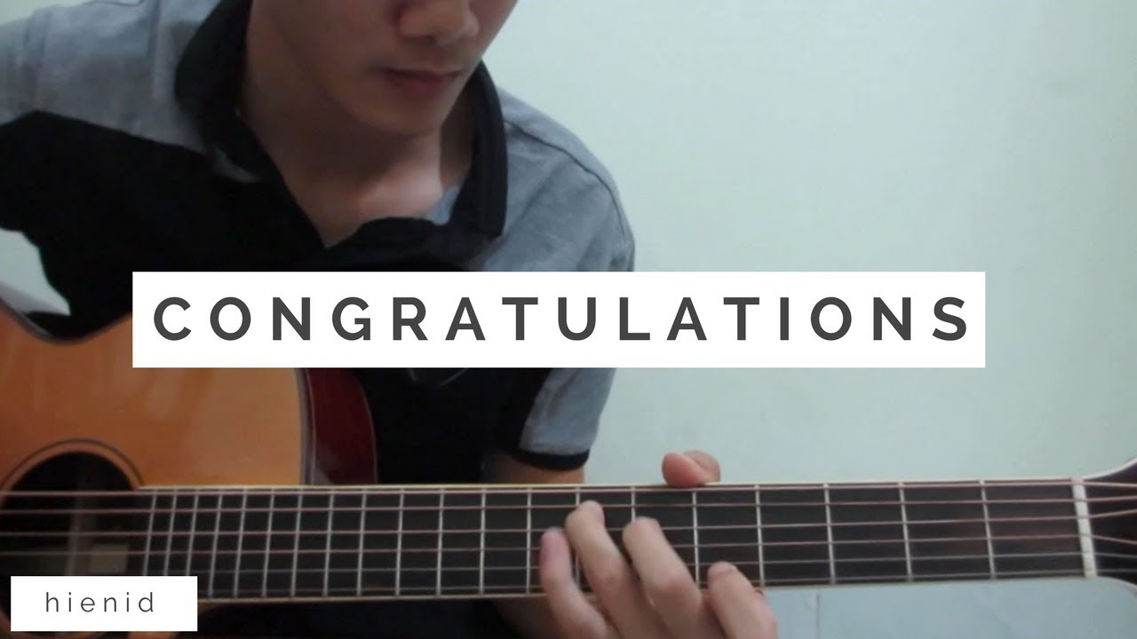 Post Malone Congratulations Fingerstyle Guitar Cover Youtube