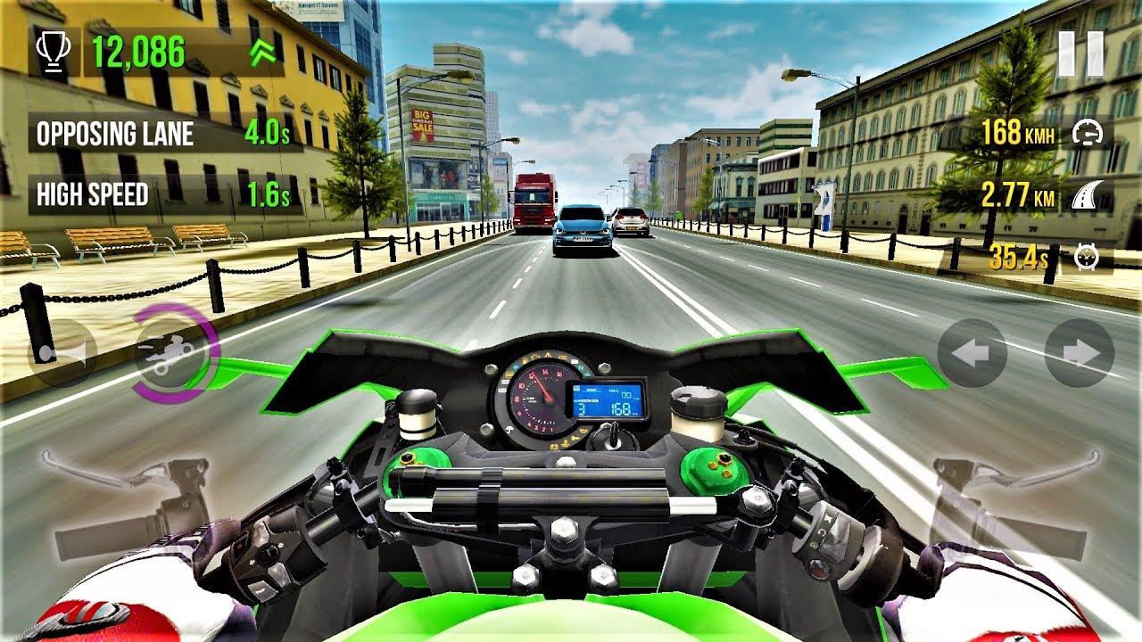 Traffic Rider Kawasaki Ninja H2  -Best Android Gameplay HD #37