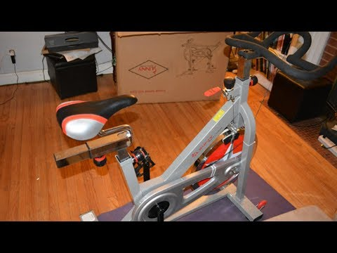 Sunny Health & Fitness Pro Indoor Cycling Bike Review (SF-B901)