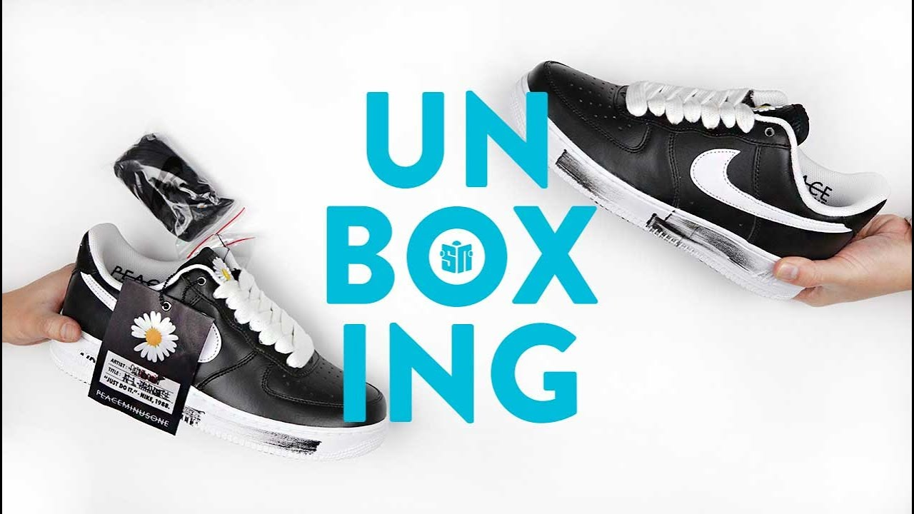 G Dragon Air Force 1 Peaceminusone Unboxing