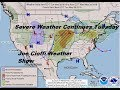 Severe weather threats continue tuesday across the plains to the middle atlantic states mp3