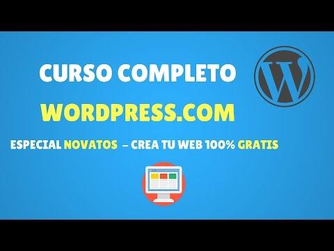 Curso de WordPress.Com - Completo - Novatos 2017 - Paso a Paso - 동영상
