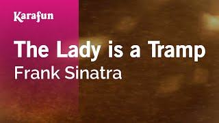 Karaoke The Lady Is A Tramp - Frank Sinatra *