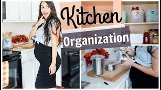 No Pantry NO Problem! Cabinet/Kitchen Organization