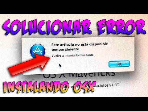 CÓMO DESCARGAR MAC OSX SI YA NO ESTÁ DISPONIBLE