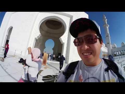 360 VIDEO-Food and Travel 360: Dubai/Abu Dhabi Part 4-Ferrari World, Sheikh Zayed Mosque, Cipriani