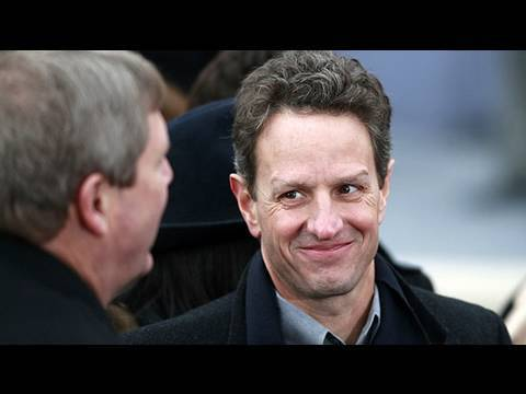 Tim Geithner Tried to Cover Up Money Going to Top Banks