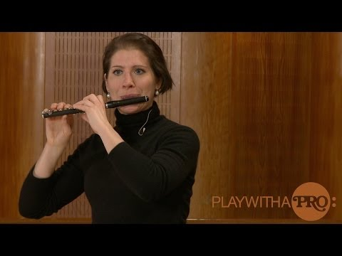 Breathing Fundamentals for Piccolo Flute with Steenstrup, Vivaldi and Tjaijkovsky