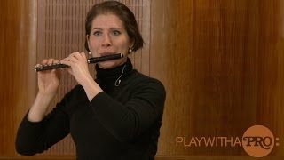 Breathing Fundamentals for Piccolo Flute with Steenstrup, Vivaldi and Tjaijkovsky
