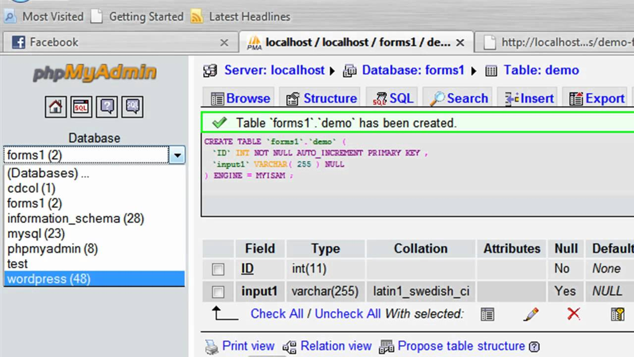 How to Create an HTML Form That Stores Data in a MySQL Database ...