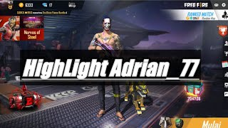 Highlight Adrian_77 #2 | Free Fire indo
