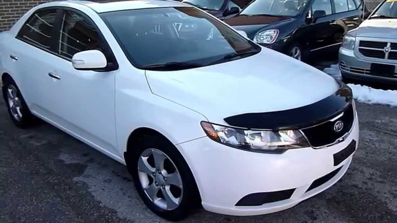 2010 kia forte ex white youtube. Black Bedroom Furniture Sets. Home Design Ideas
