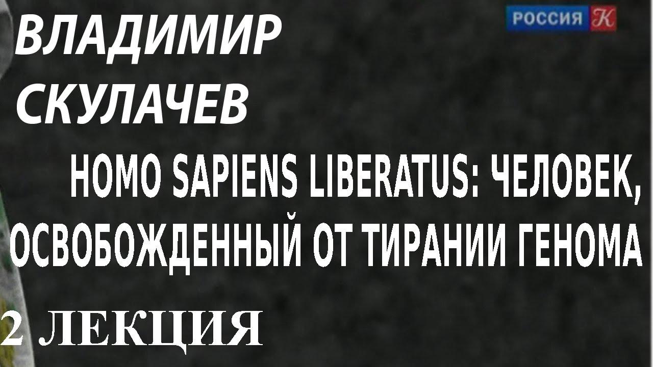 ACADEMIA. Владимир Скулачев. Homo Sapiens liberatus: человек освобожденный от... 2 лекция
