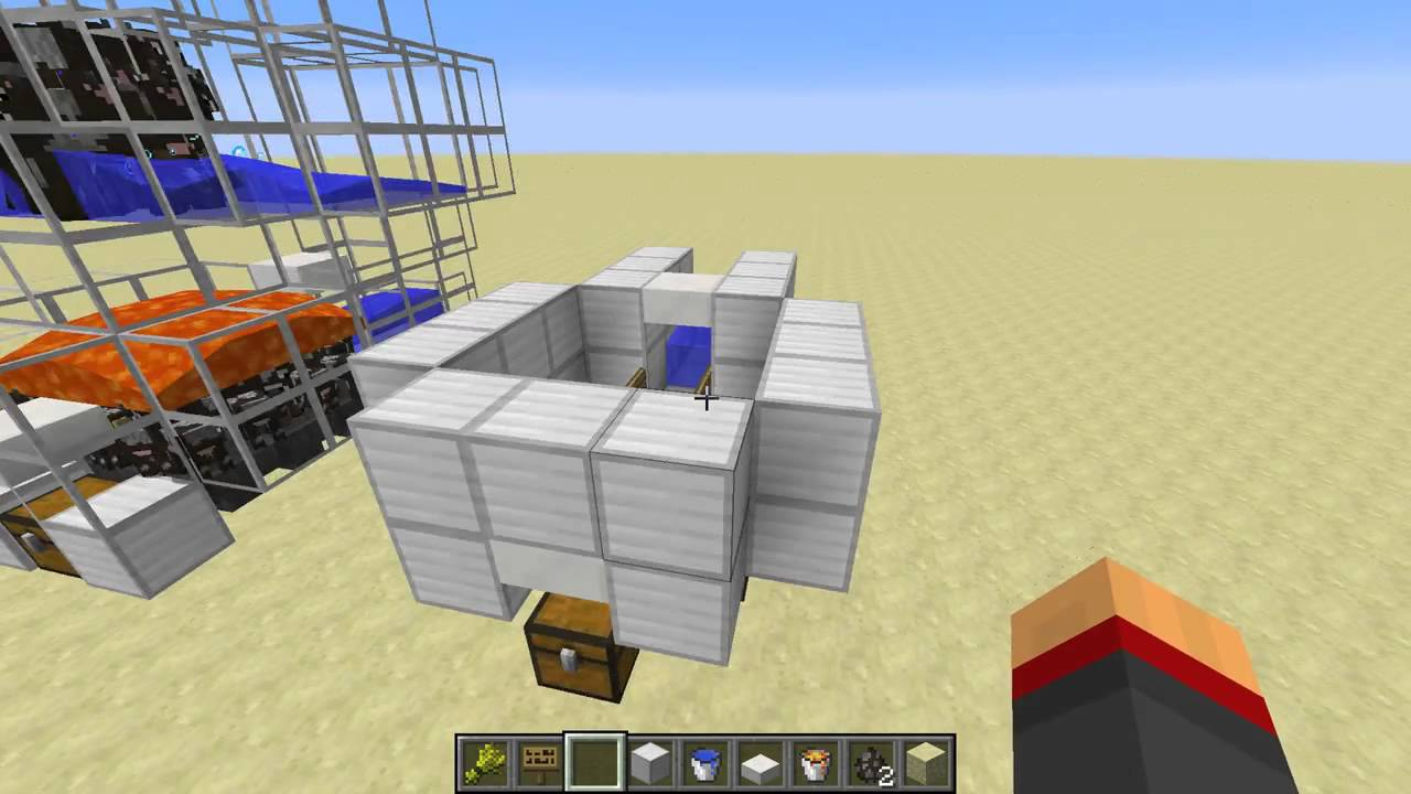 How To Build An Automatic Cow Farm In Minecraft