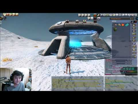Just Mining (Entropia Universe #6) - Planet Arkadia Lootable PVP