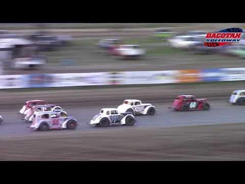 Dacotah Speedway INEX Legends A-Main (6/15/18)