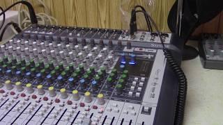 Soundcraft Signature 16 Lexicon effects test