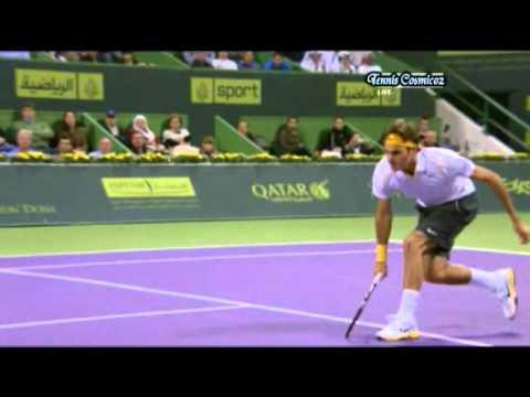 Federer & Davydenko Qatar Final 2011