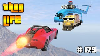 GTA 5 THUG LIFE AND FUNNY MOMENTS (Wins, Stunts and Fails #179)