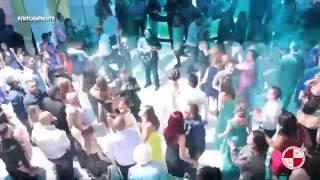 Buffet Mediterrâneo Mansão Araci show com bateria escola de samba Apito de Mestre