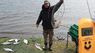 На риболовлі. ШОК!!!.... Упав мій новенький сотик ''GALAXY''.... (Аж серце тьохнуло....)