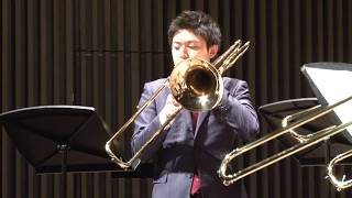 "I. Monotone Prologue from ""Plan"" A for Trombone Quartet / プランAより「モノトーン・プロローグ」"