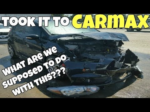 I Brought My REBUILT SALVAGE Car with FRAME DAMAGE to Carmax