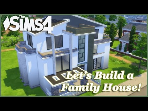 The Sims 4 - Let's build a Family House (Part 1) Realtime