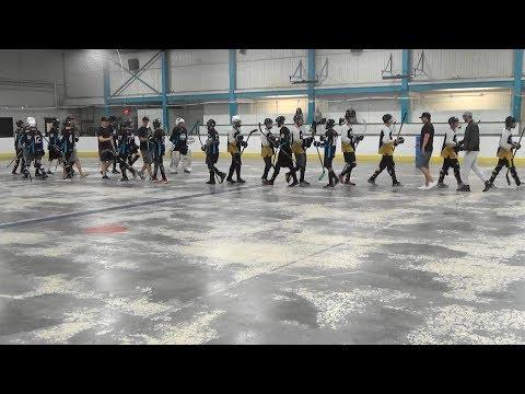 2017 BC Minor Ball Hockey Provincials (Major Mountain Semi-Final) Surrey Lilboats vs. Valley Major
