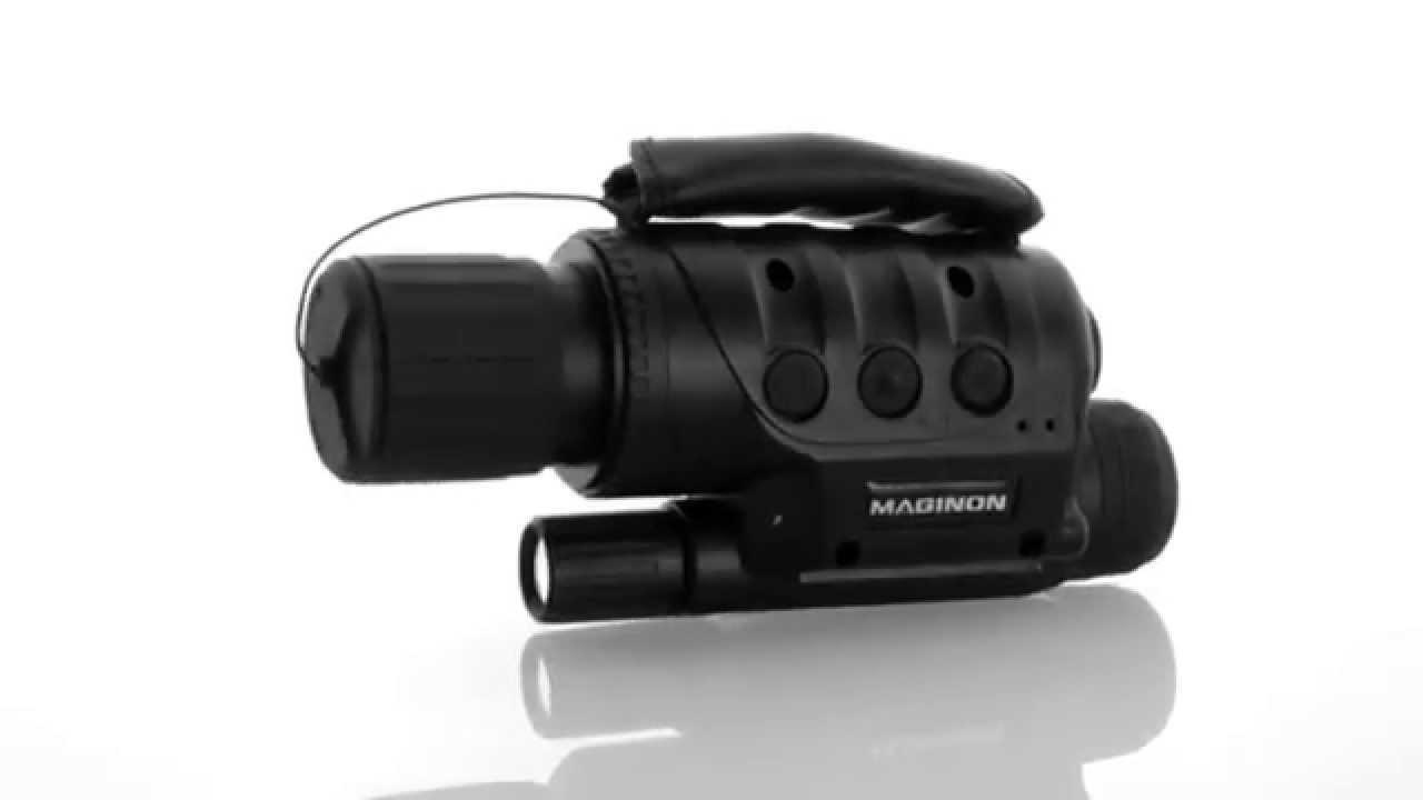 Maginon digitales nachtsichtgerät nv 400 dc de youtube