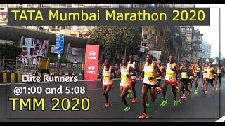 TATA Mumbai Marathon 2020   Elite runners edition
