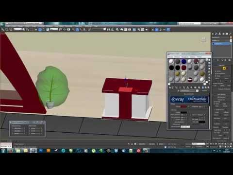 3ds Max Expo Stand Modelling