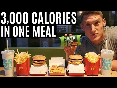 3,000 CALORIES IN ONE MEAL | IIFYM Full Day of Eating