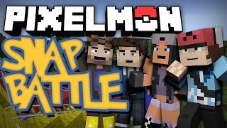 Minecraft Pixelmon Snap Battle! - Mini-Game w/ Aphmau, Poet and TerasHD