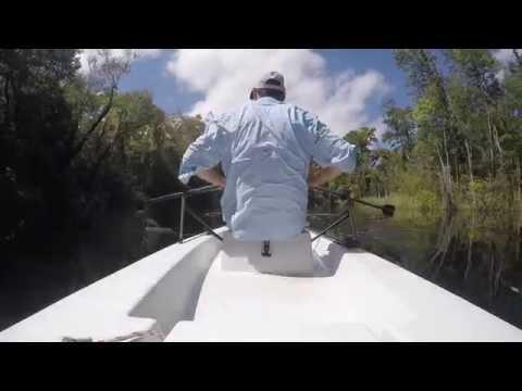 Rowing a Solo Skiff
