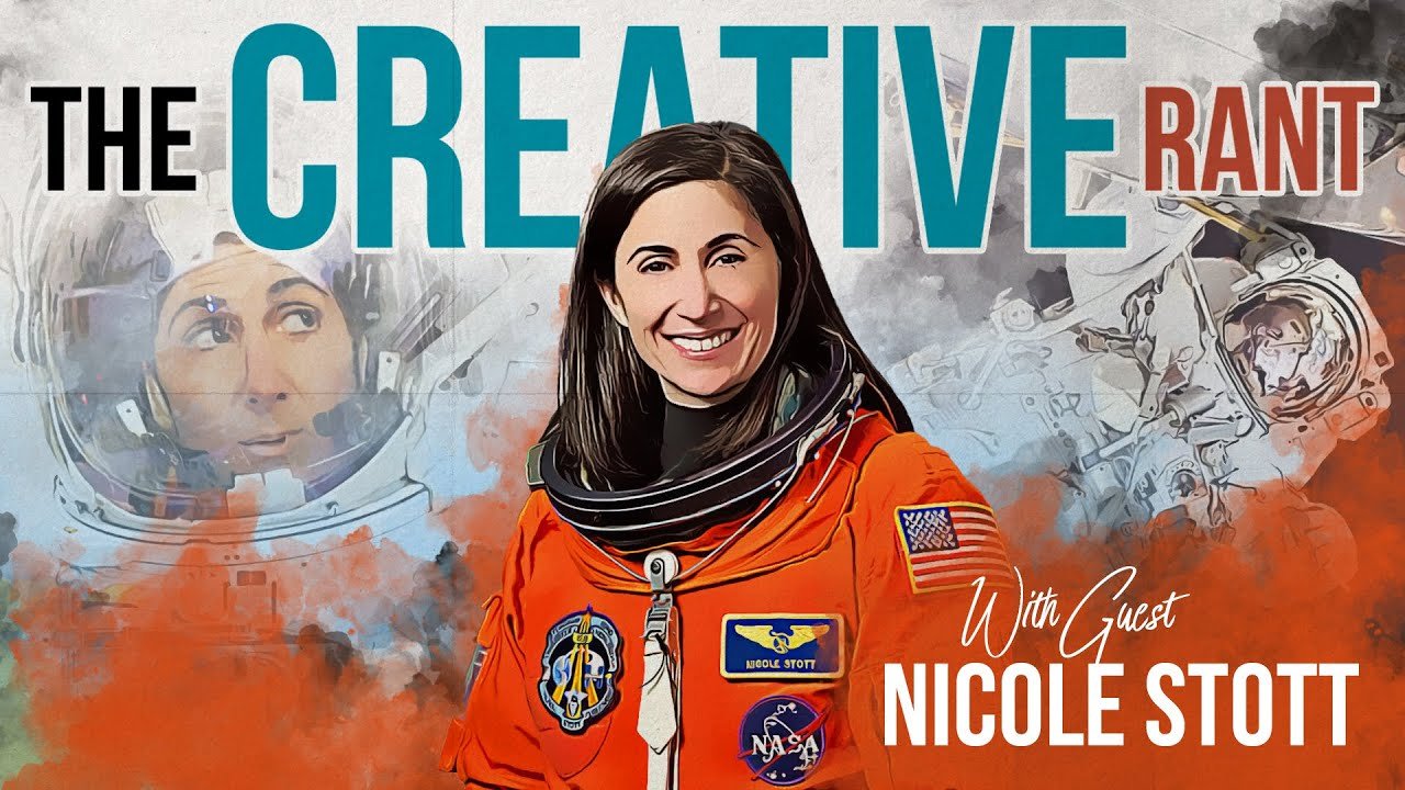 Astronaut Nicole Stott Talks About Painting, Creativity, and Science.