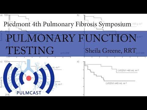 Pulmonary Function Testing - Sheila Greene, RRT