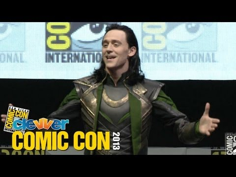 Marvel 2013 Comic Con Panel: Loki Takes Over