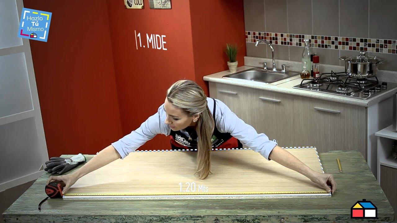 Paso a paso arma tu mueble de cocina f cil y r pido for Muebles de cocina homecenter