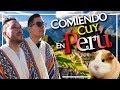 Llegamos a PERU, y todo esto COMIMOS en CUSCO 🇵🇪