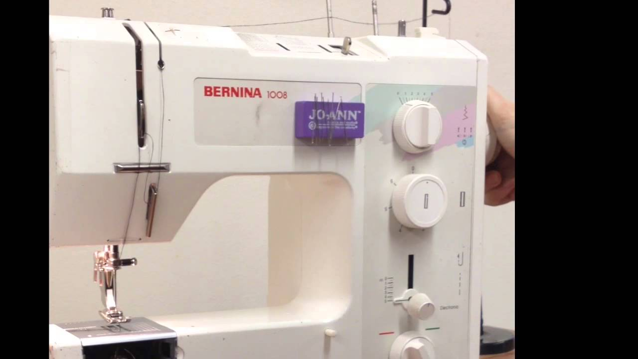 Bernina Sewing Machine Threading Diagram Just Another Wiring Of 1006 1008 How To Thread The Youtube Rh Com 1930s Singer